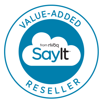 SayIt Value Added Reseller Badge
